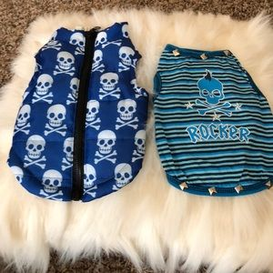 Adorable puppy skull 💀 clothes set of 2🐶🐾